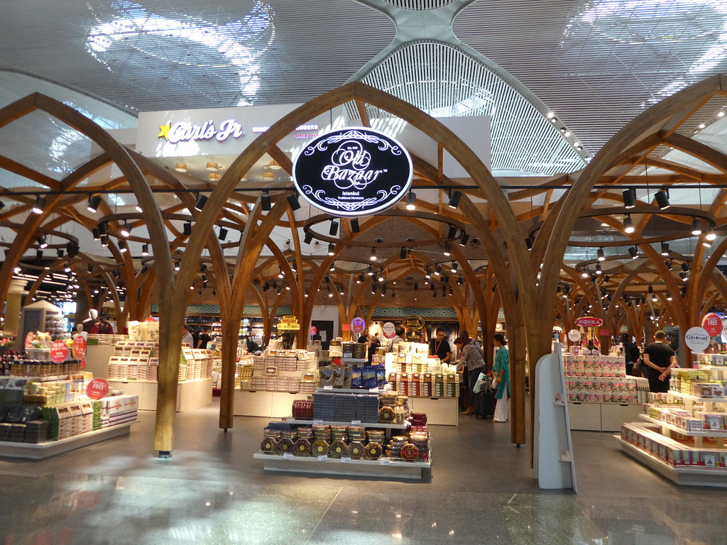 Shopping at Istanbul International Airpor