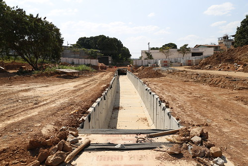 Visita técnica - Vistoriar a obras do Córrego do Marimbondo-  Comissão Especial de Estudo