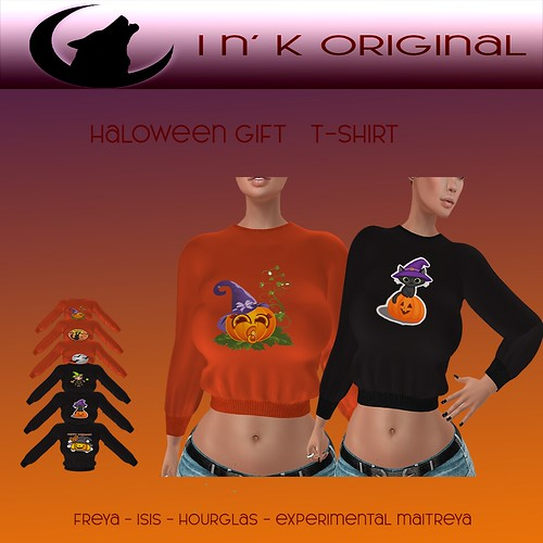 I n' K Original - October group gift - Halloween T-Shirt
