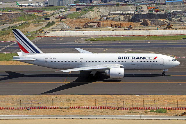 F-GSPU  -  Boeing 777-228ER  -  Air France  -  TPE/RCTP 11/10/19
