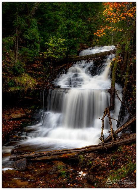 Wagner Falls. Munising, Michigan