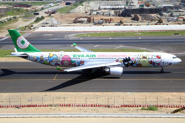 B-16333  -  Airbus A330-302X  -  Eva Air (Sanrio Characters)  -  TPE/RCTP 11/10/19