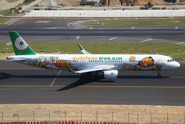 B-16205  -  Airbus A321-211 (SL)  -  EvA Air  -  TPE/RCTP 11/10/19