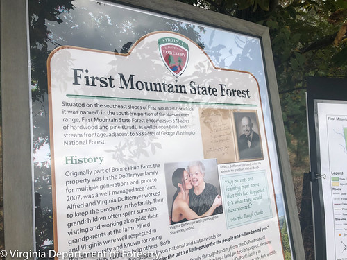 Gov. Northam Dedicates First Mountain State Forest 10/07/2019