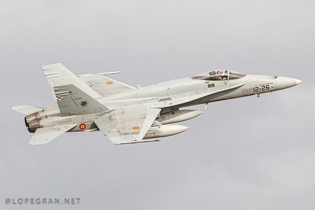 EF-18M Hornet - Ala 12