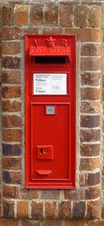 Victorian Postbox, Long Melford. CO10.
