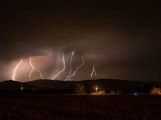Lightnings with Olympus Live Comp. | by ugryy