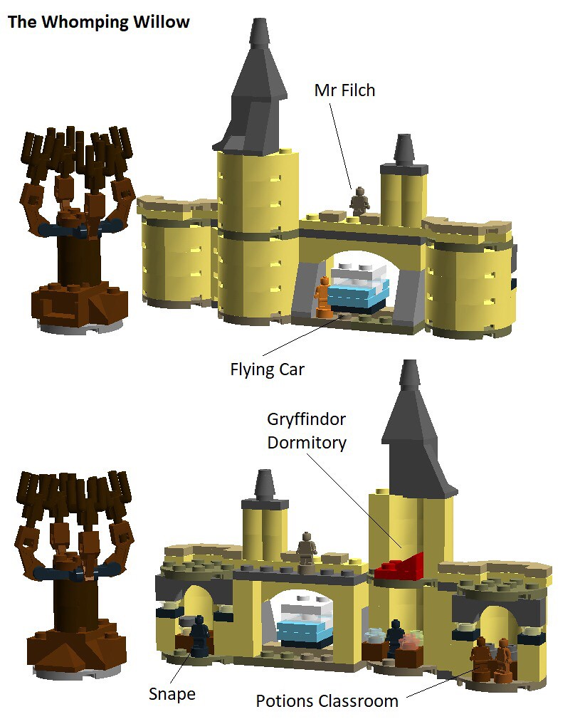 LEGO Hogwarts Whomping Willow (Sketch)