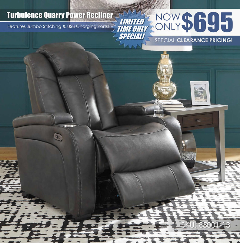 Turbulence Quarry Recliner Special_85001-13