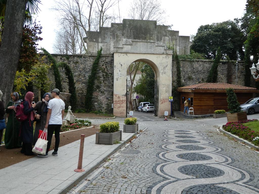 Entrance gates to Yildiz Park, Istanbul