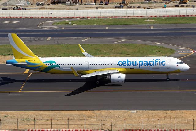 RP-C4111  -  Airbus A321-211 (SL)  -  Cebu Pacific Air  -  TPE/RCTP 11/10/19