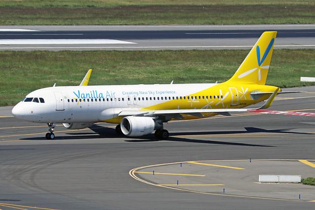 JA01VA  -  Airbus A320-214 (SL)  -  Vanilla Air  -  TPE/RCTP 11/10/19