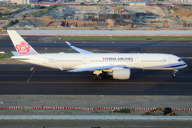 B-18906  -  Airbus A350-941  -  China Airlines  -  TPE/RCTP 11/10/19