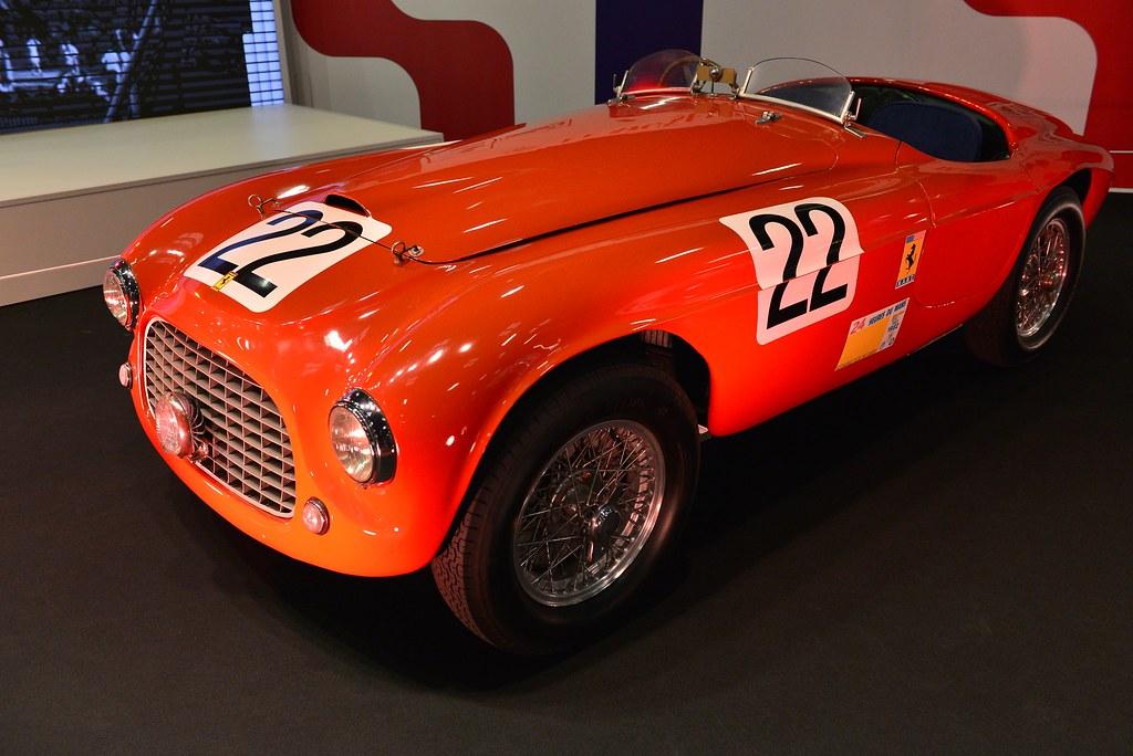1949 Ferrari 166 MM Barchetta Touring n°22