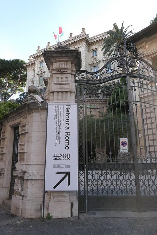 Retour à Rome, Istituto Svizzero Rom