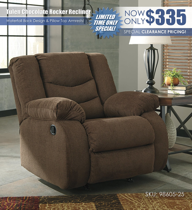 Tulen Chocolate Recliner Special_98605-25