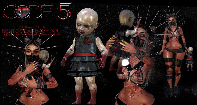 CODE-5 Bento Dead Baby Doll / V.0.01