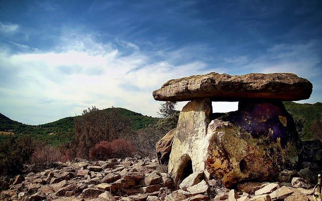 Dolmen of the Prieuré St. Michel (Languedoc - France)