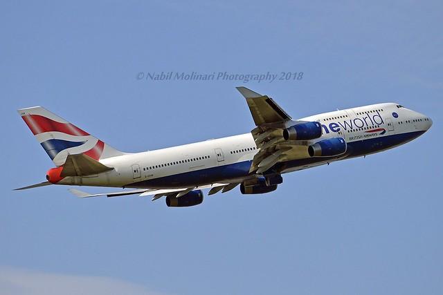 British Airways G-CIVK Boeing 747-436 cn/25818-1104 Painted in