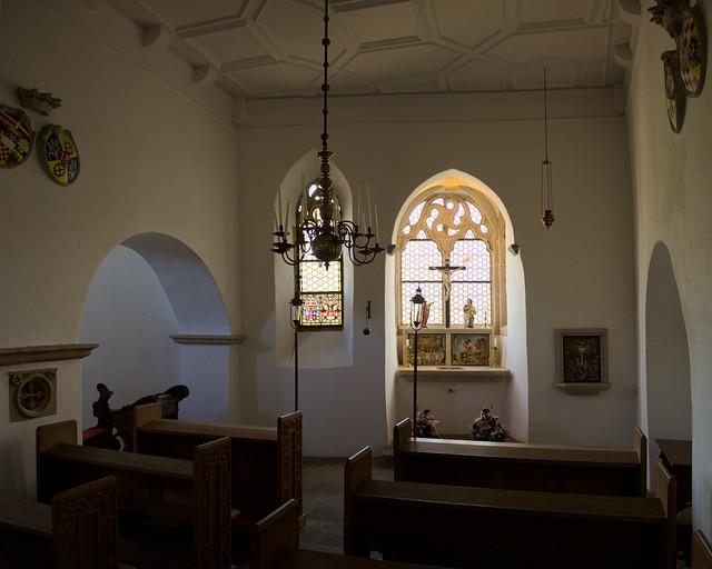 Burg Eltz - Kapelle