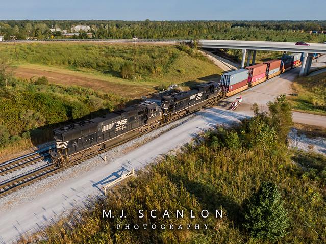 NS 2610 | EMD SD70M | NS Rossville Yard