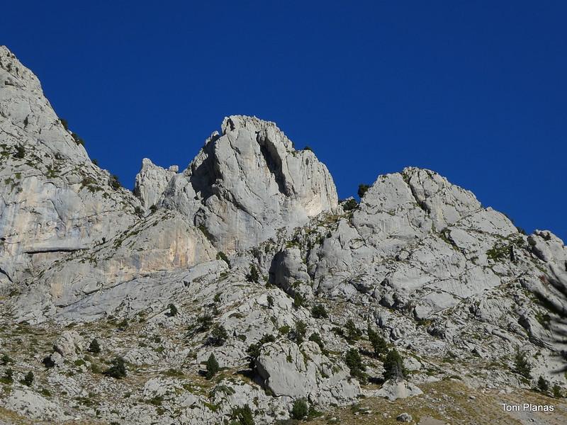 Pedraforca. Cresta de Cabirols