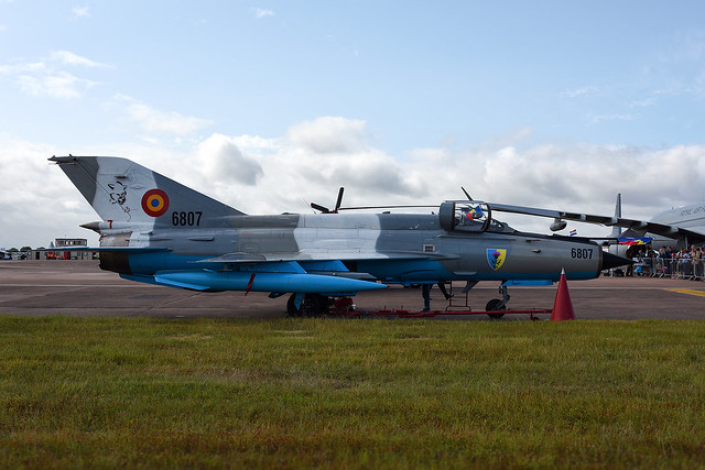 RIAT 2019, Romanian Air Force  MiG-21 Lancer