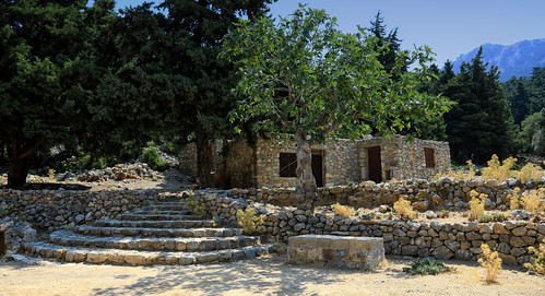 The Byzantine Castle of Old Pyli in Kos,