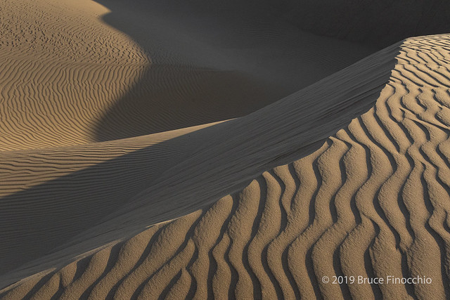 Oceano Dune And Sand Patterns
