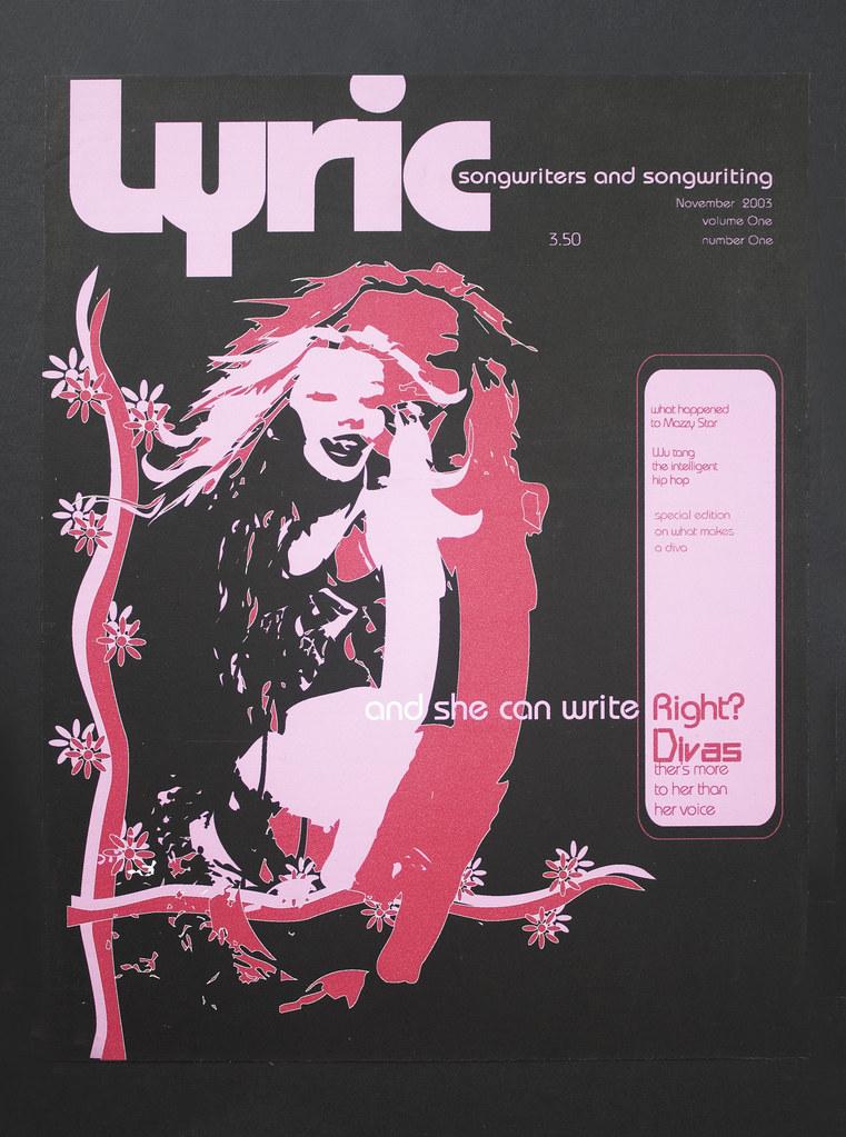 Lyric Magazine Design, Magazine Design, Rebecca Pons, BECCA, BECCA Studio, Cover Design, Newspaper Design, Illustration, Magazine Illustration,
