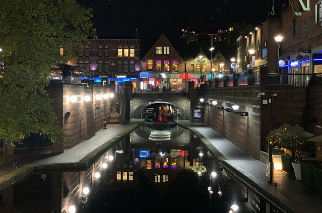 Birmingham Canals in the still of the night