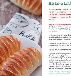 Broodjes uit eigen oven, zoet en hartig