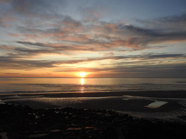 Northumberland Sunrise - 10,000th Flickr Post
