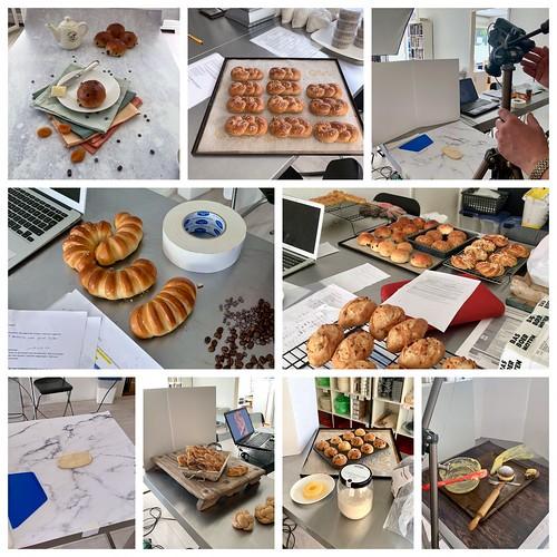 Collage fotos maken boek Broodjes uit eigen oven, zoet en hartig