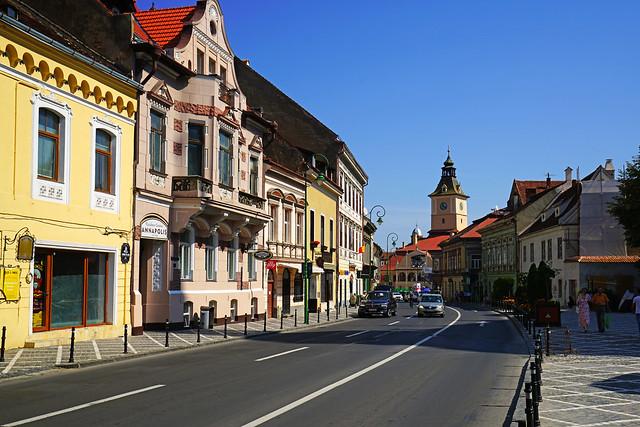 Strada George Barițiu, Brașov, Romania