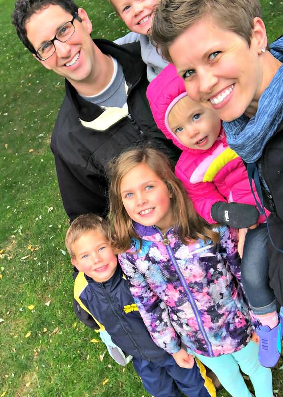 dekker family selfie
