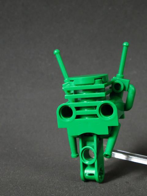 The little green man