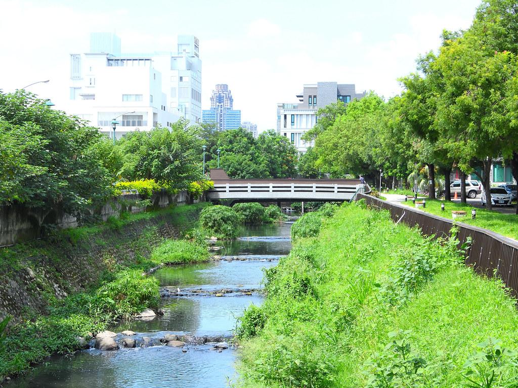 台中市「黎明溝水環境改善計畫」。圖片提供:台灣河溪網