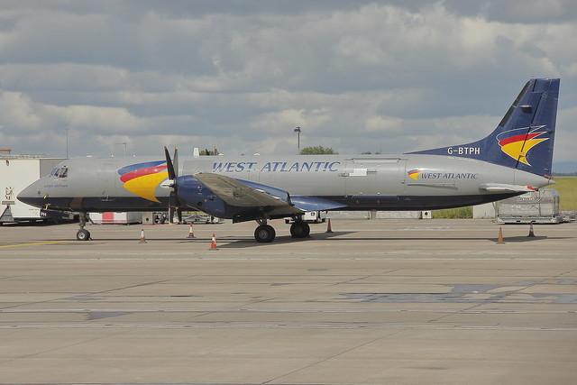 West Atlantic British Aerospace ATP G-BTPH