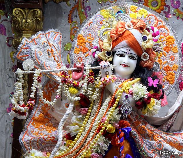 ISKCON Juhu Sringar Deity Darshan on 16th Oct 2019