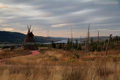 Blackfeet Indian Memorial, St. Mary Overlook