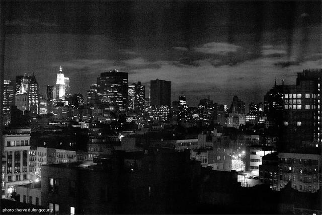 NYC through the curtain