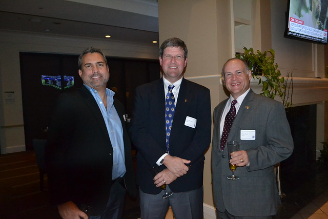 Eric Liebowitz '87,  Paul Thomas '89, and Bruce Beck '87