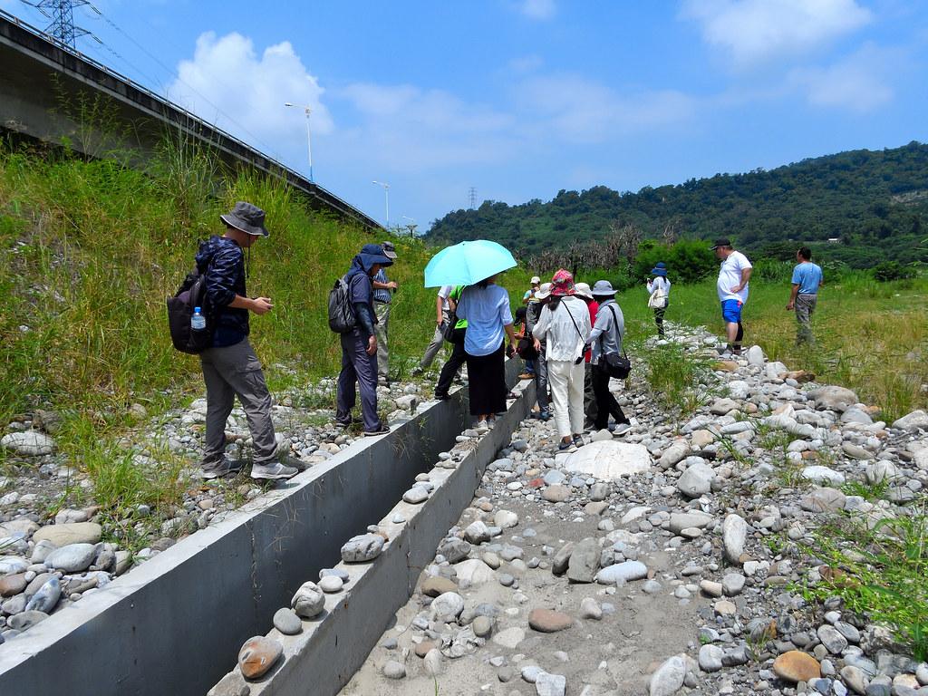 台灣河溪網與地方民間團體共同現勘。圖片提供:台灣河溪網