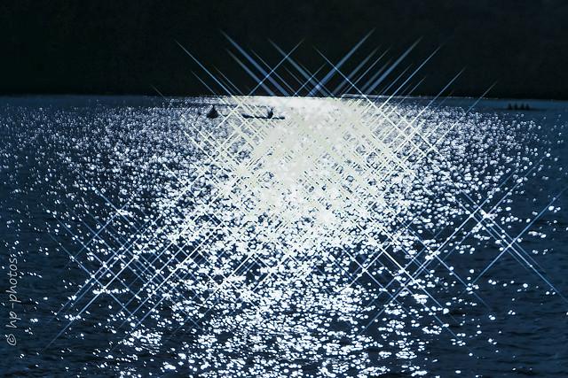 Kayaking through Light