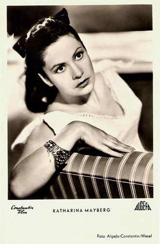 Katharina Mayberg in Die schöne Müllerin (1954)
