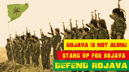 Defend Rojava | by Roja Ciwan