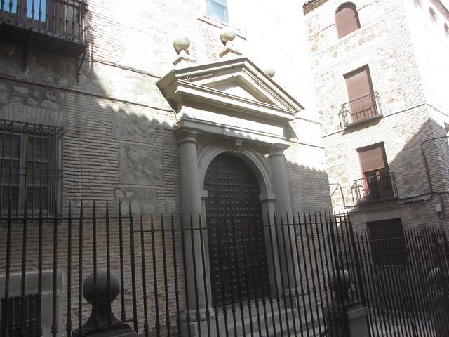 Entrance to Capilla  de San José,  Calle  Nuñez  de  Arce, Toledo