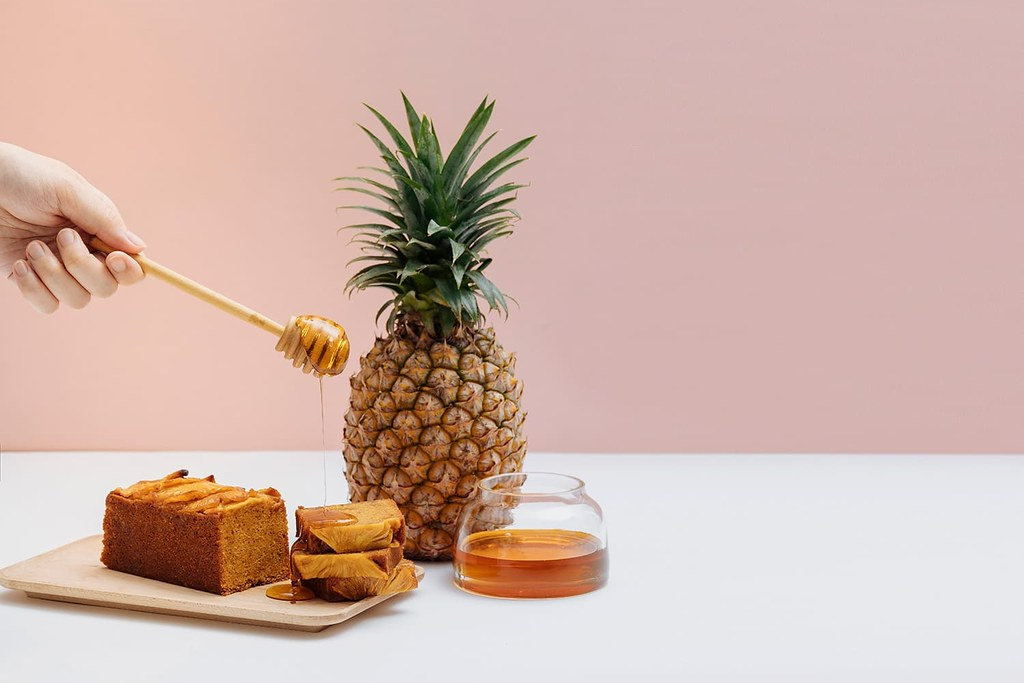 焦糖鳳梨磅蛋糕-1