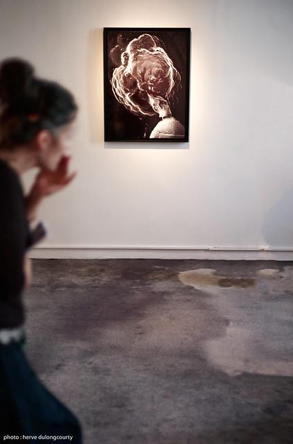 Exhibition NUAGE - Yves Trémorin : Electronogramme #7 (Coléoptère), 2009